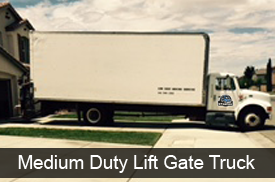 We have boxed and open lift gate trucks to suite your needs